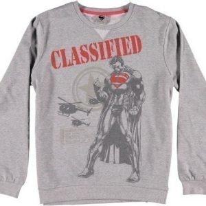 Superman Classified Grey Sweatshirt