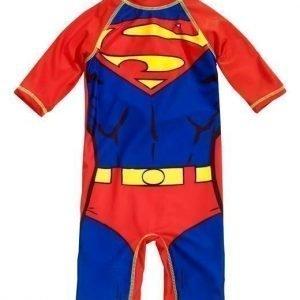 Superman UV- puku Punainen