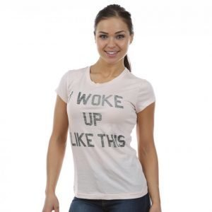 Svea Lotta Tee T-paita Roosa
