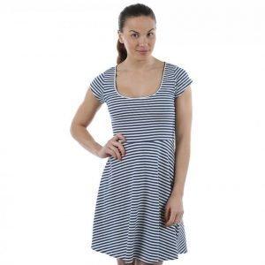 Svea Stripe Dress Mekko Sininen / Värikäs