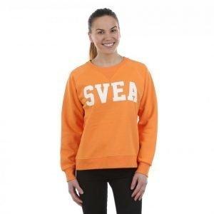 Svea Yara Crewneck Collegepaita Oranssi