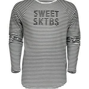 Sweet Next Striped Ls Pitkähihainen t-paita