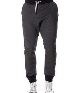 Sweet Pants 2 Tones Loose Black Marl