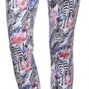 Sweet Pants High Print Flamingo Collegehousut