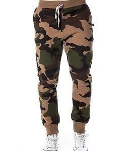 Sweet Pants Loose 82 Camo Print Beige