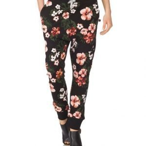 Sweet Pants Terry Print Loose Collegehousut