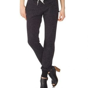 Sweet Pants Terry Print Slim Collegehousut