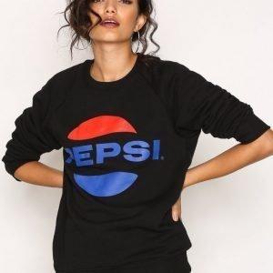 Sweet Sktbs Pepsi Crew Sweater Svetari Black