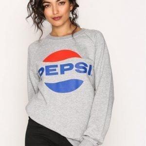 Sweet Sktbs Pepsi Crew Sweater Svetari Grey Melange