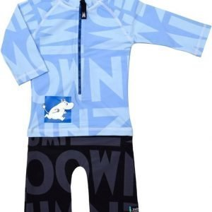 Swimpy UV-puku Muumi Blue/Black