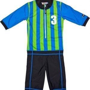 Swimpy UV-puku Sport Blue/Green