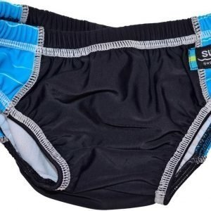 Swimpy Uimavaippa Musta/Sininen