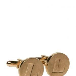 Syster P Signature Cufflinks Gold Pair kalvosinnapit