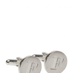 Syster P Signature Cufflinks Silver Pair kalvosinnapit