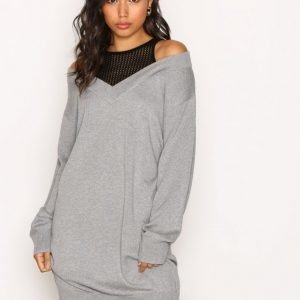 T By Alexander Wang Inner Tank Combo Loose Fit Mekko Heather Grey