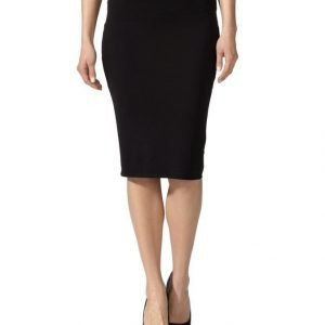 T By Alexander Wang Lux Ponte Midi Skirt Hame