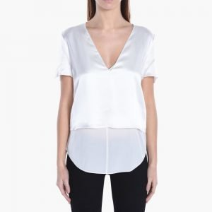 T by Alexander Wang Charmuse V Neck Top