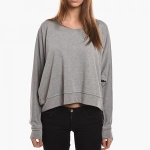 T by Alexander Wang Enzyme Washed Lightweight Sweatshirt