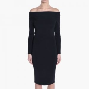 T by Alexander Wang Full Needke Knit Rayon Dress