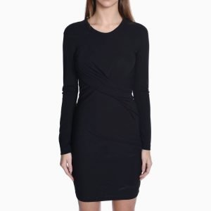 T by Alexander Wang Rayon Frontdrape Dress