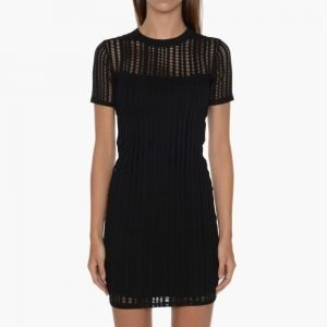 T by Alexander Wang Stretch Cotton Fitted Dress