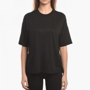 T by Alexander Wang Viscose Short Sleeve Jersey