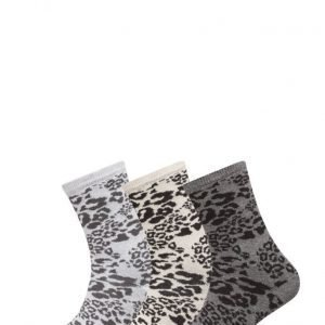 TOPECO Ladies Sock 3-Pack nilkkasukat