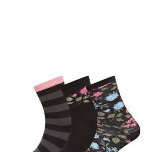 TOPECO Ladies Sock 3-Pack nilkkasukat