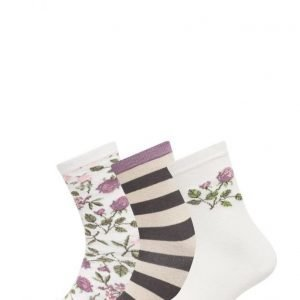 TOPECO Ladies Sock Bootz Offwhite nilkkasukat