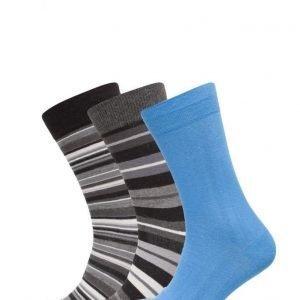 TOPECO Men´S Socks 3-Pack nilkkasukat
