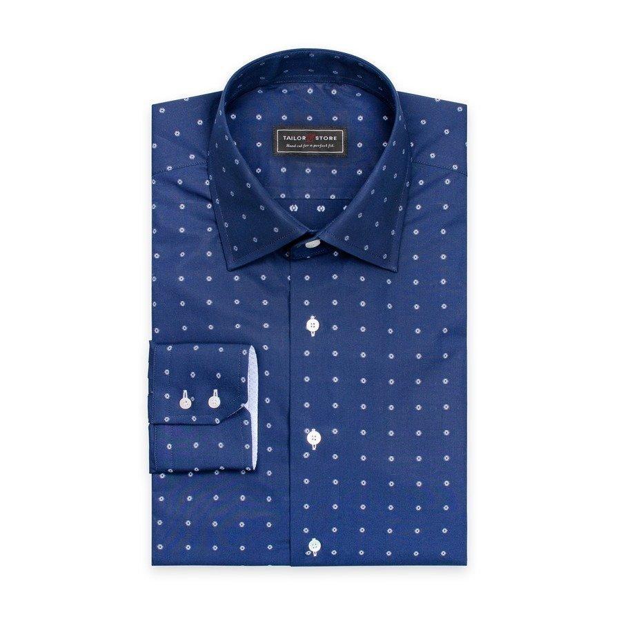 Tailor Store Business Paita Laivastonsininen / Valkokuviollinen