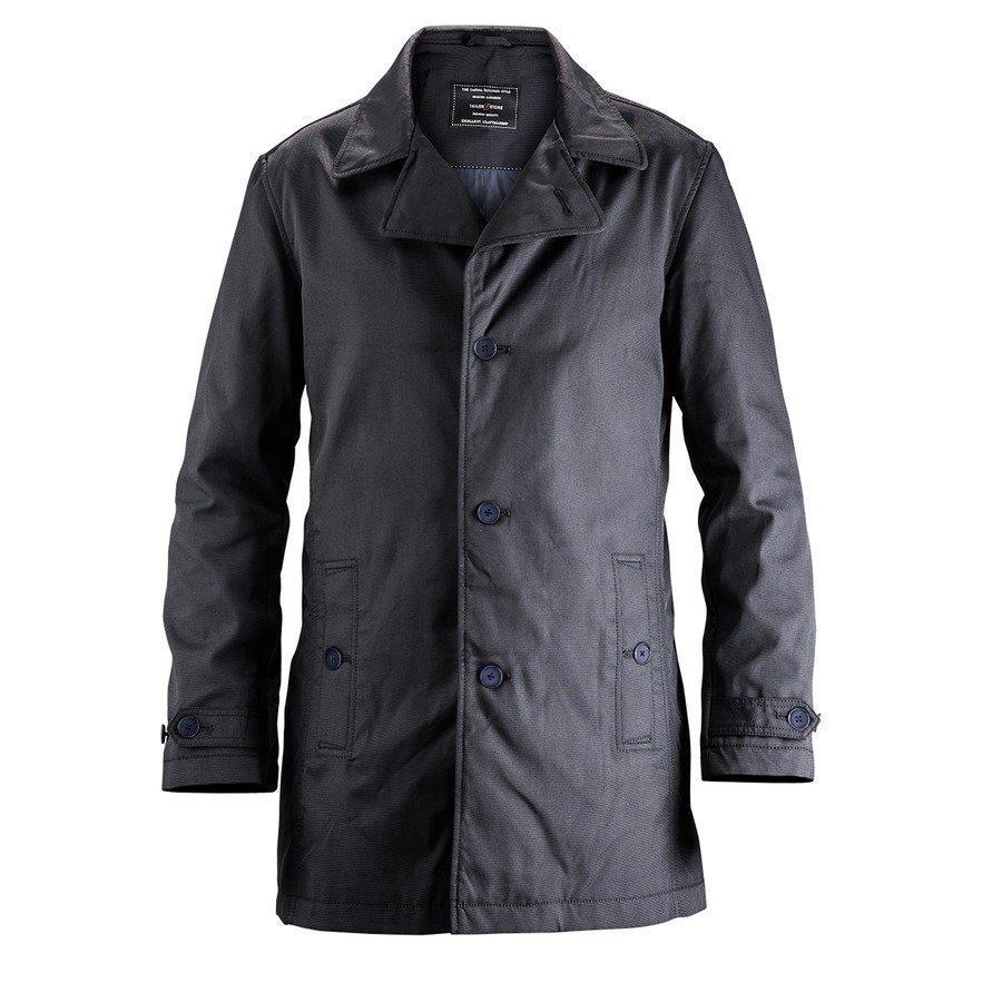 Tailor Store Casual Car Coat Mittatilaustyönä Laivastonsininen