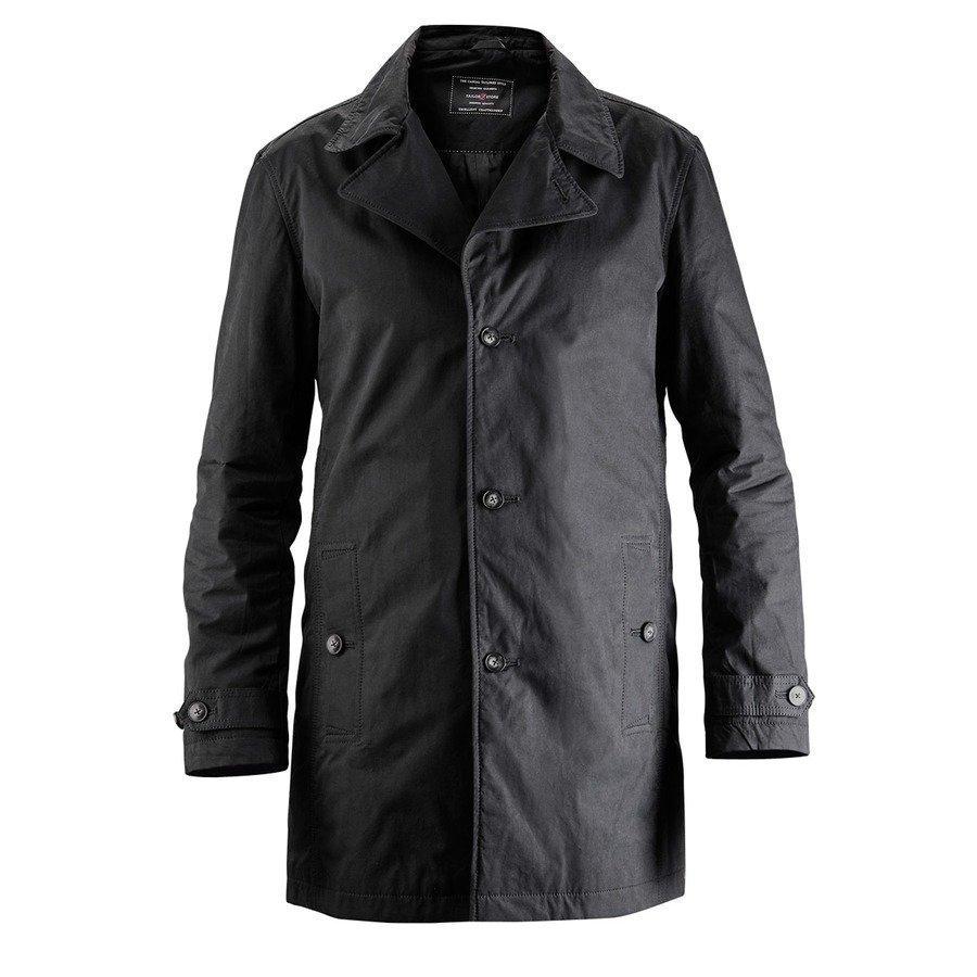 Tailor Store Casual Car Coat Mittatilaustyönä Musta