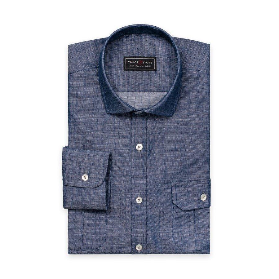 Tailor Store Cut Away Paita Sininen