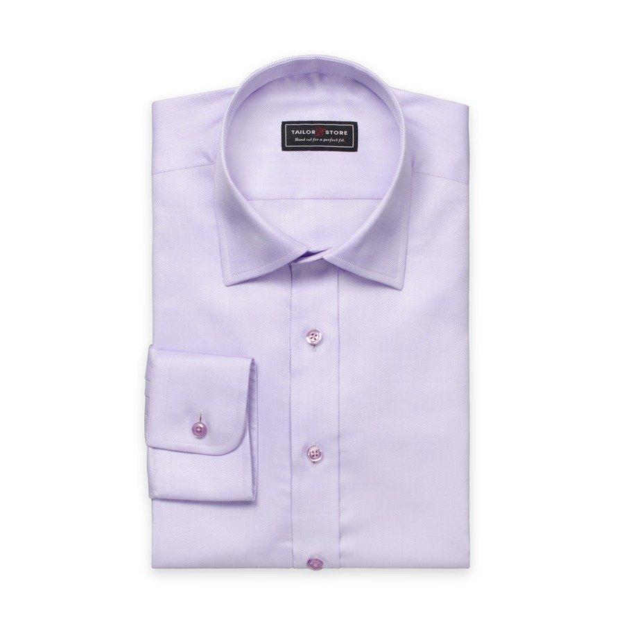 Tailor Store Herringbonepaita Vaaleanvioletti