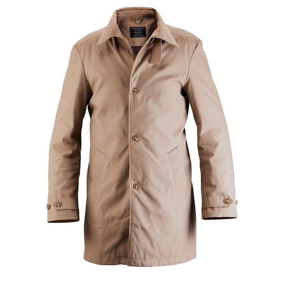 Tailor Store Klassinen Car Coat Mittatilaustyönä Kamelinruskea