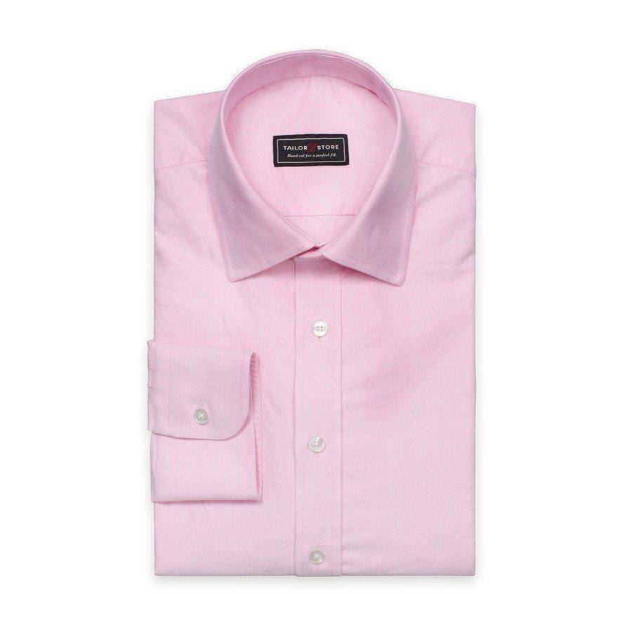 Tailor Store Oxford Paita Jossa Business Superior Kaulus Vaaleanpunainen