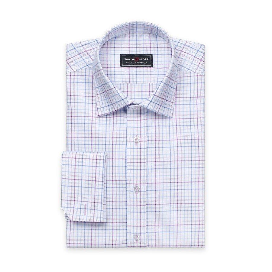 Tailor Store Oxford Paita Ruudullinen