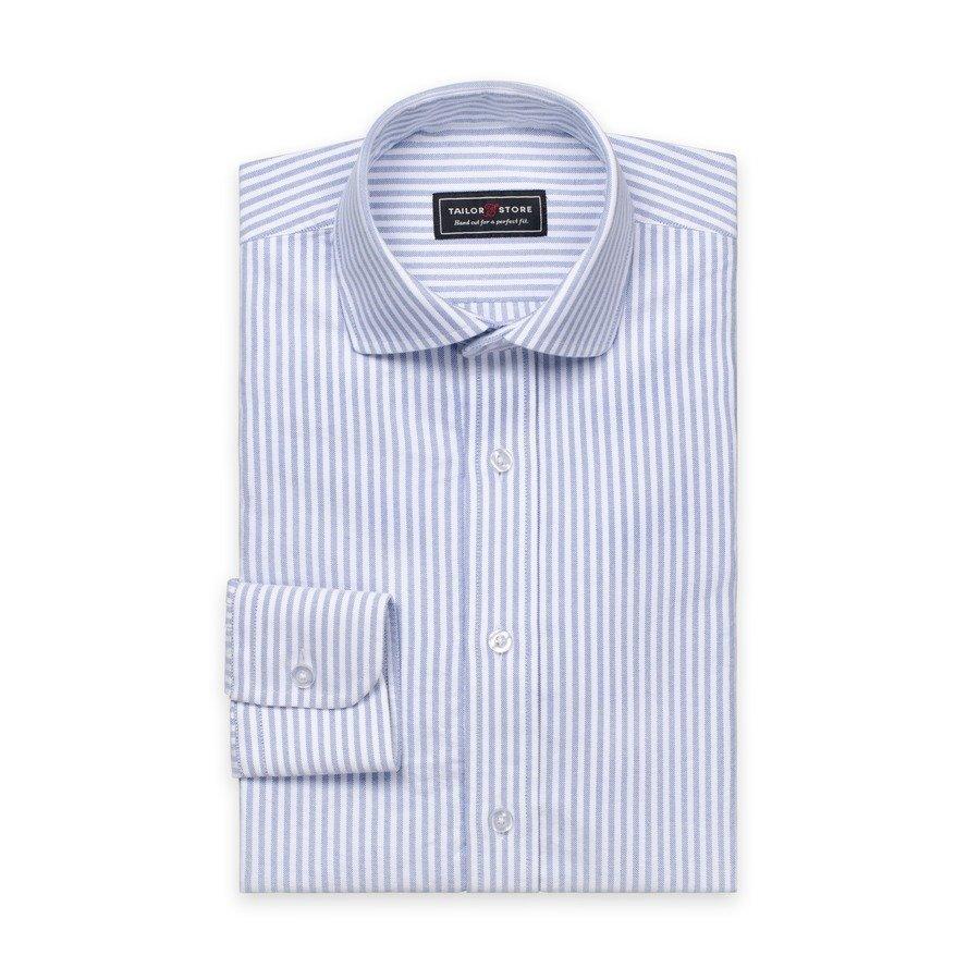 Tailor Store Oxford Paita Valko / Siniraidallinen