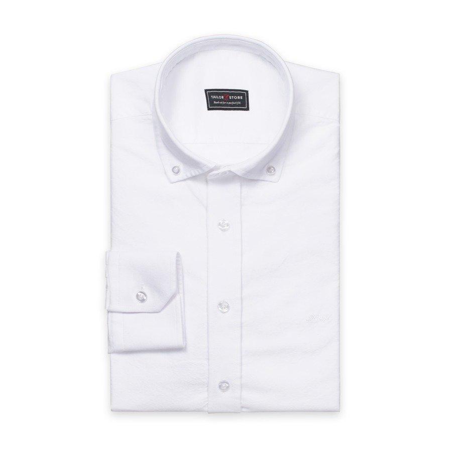 Tailor Store Oxford Paita Valkoinen