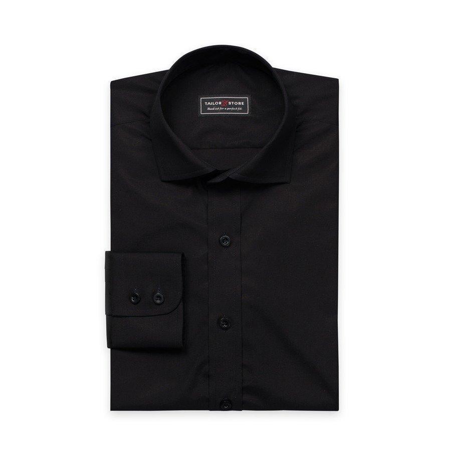 Tailor Store Popliinipaita Musta