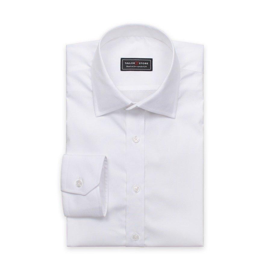 Tailor Store Popliinipaita Valkoinen