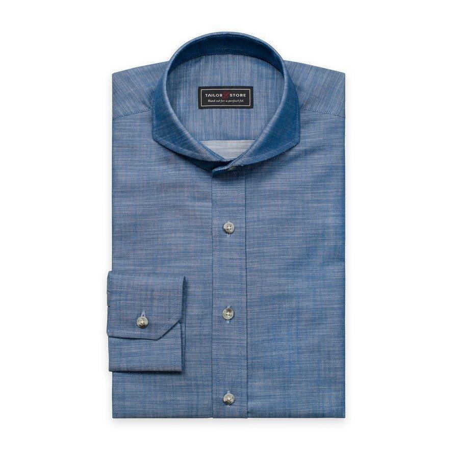 Tailor Store Slim Fit Paita Sininen