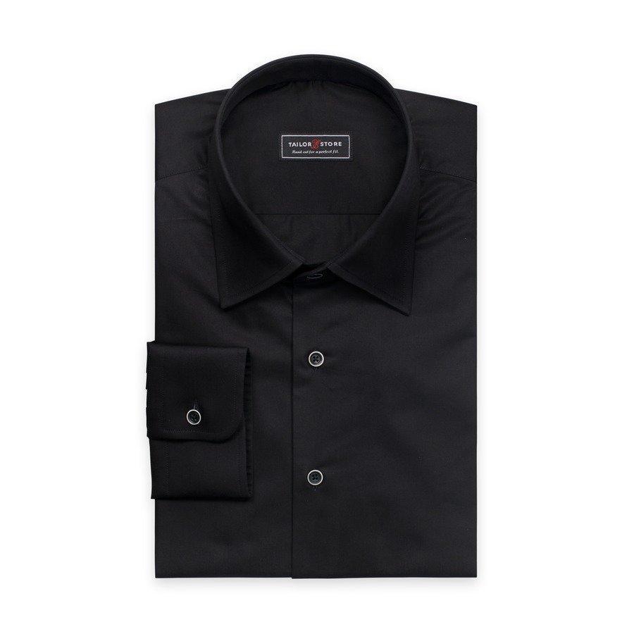 Tailor Store Twillpaita Tyylikäs Musta