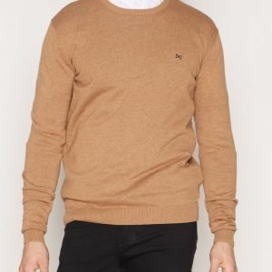 Tailored By Solid Dallas Knit Pusero Brown