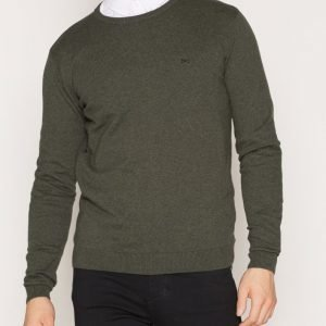 Tailored By Solid Dallas Knit Pusero Grey Melange