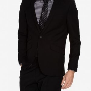 Tailored By Solid Denver Jacket Bleiseri Black