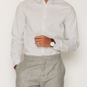 Tailored By Solid Ibstock Shirt Kauluspaita White