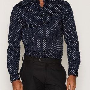 Tailored By Solid Ickleton Shirt Kauluspaita Insignia Blue