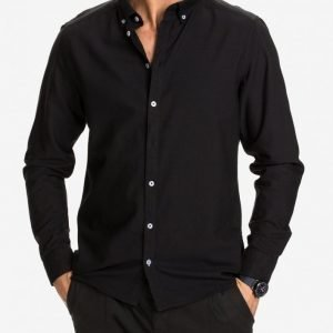 Tailored By Solid London Shirt Kauluspaita Black
